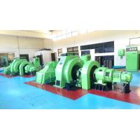 Quality 50kw Francis Water Wheel Turbine Generator For HPP for sale