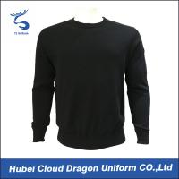 Cheap Custom Long Sleeve Security Guard Shirts / Duty Security Guard Sweater 55%Acrylic 45%Cotton wholesale