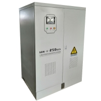 Buy cheap Three Phase 2500KVA Without Distortion Servo Motor Type Full Auto AC Separate Regulation Voltage Stabilizer product