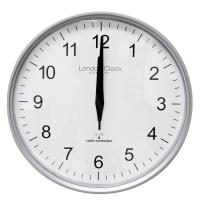 China 2012 HOT-SALES SUMMER GIFTS Radio controlled LCD clock on sale
