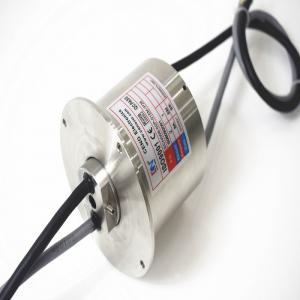 Buy cheap 100M Ethernet 50rpm 8mm Waterproof IP68 Slip Ring product