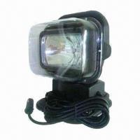 Buy cheap 12/24V 35/55W Wireless Xenon Mining Machinery Working Light with Tempered Glass Lens product