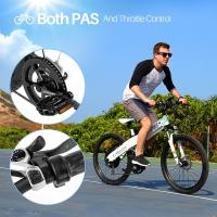 Comfortable Electric Battery Powered Bicycles , Electric Mountain Bike For Adults