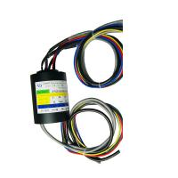 Buy cheap Compact Size Through Hole Slip Ring 5 Circuits Transmitting Ethernet Common Signals product