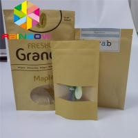 Buy cheap Moisture Proof Paper Box Packaging Heat Seal Kraft Paper Bag Eco - Friendly from wholesalers