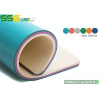Buy cheap Eco - Friendly PVC Vinyl Flooring Indoor / Outdoor Sports Decking GEM7.0 product