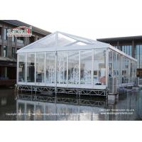 Buy cheap 10 x 20 m Transparent Marquee Tent With Glass Walls For Outdoor Temporary 200 People Wedding from wholesalers