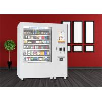 Buy cheap Bus Station Snack Vending Kiosk , Mini Mart Food Vending Machine With Big Touch Screen from wholesalers