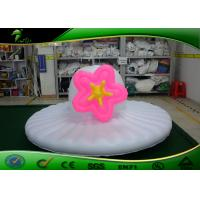 Customized PVC Inflatable Hat Shape / Inflatable Hat Type Model With Flower For