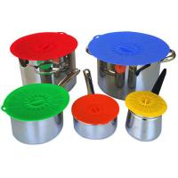 Buy cheap Food Fresh Silicone Cooking Lids For Bowls , Eco - Friendly Silicone Cup Lids product