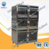China Veterinary Equipment Pet Cage Stainless steel pet display (foster, hospitalization) cage Mezs-02 on sale