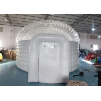 Buy cheap Waterproof Lawn Dome 0.7mm  Inflatable Igloo Tent product