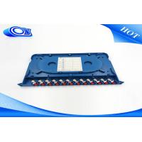 Buy cheap Wall Mounted / Rack Mounted 24 Port Fiber Optic Patch Panel Drawer Style Structure product