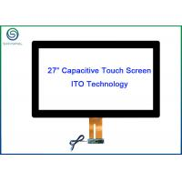 Buy cheap Aspect Ration 16 / 9 Industrial Touch Screen 27 Inch Projected Capacitive Touch from wholesalers
