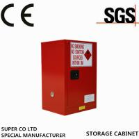 Buy cheap Metal Portab Chemical Storage Cabinet With Single Door / Flammable Safety Cabinet product