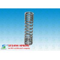 Chrome Coated Steel Compression Springs , Front Shock Absorber Springs For Motorcycle