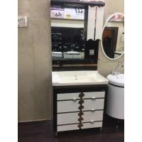 Buy cheap Cabinets Modern Square Bathroom vanity Sink Mirror 60cm / Basin from wholesalers