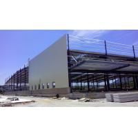 Buy cheap Custom Residential Industrial Steel Structures , Sandwich Panels Light Steel Structure Warehouse product