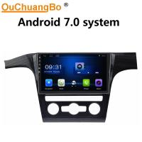 Buy cheap Ouchuangbo car video gps navi stereo for Volkswagen Passat with Bluetooth USB SWC wifi 4 Core CPU android 7.0 system product