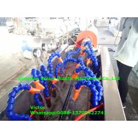 Buy cheap Italy Running Hydraulic Hose Protective Sheath PE Spiral Wrapping Band Production Line product