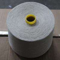 Quality Natural Color 55% Linen 45% Cotton Blended Yarn 30Ne for Weaving and Knitting for sale