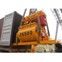 Buy cheap Hydraulic 500 Litres Concrete Mixing Equipment Double Spiral Construction Mixer Machine product