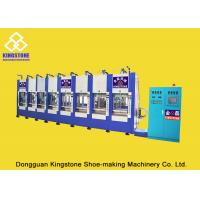 Buy cheap 8 Stations Vertical EVA Boot Making Machine 200-300 Pairs Per Hour 2 Years Gurantee product