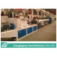 China 110mm Diameter Plastic Pipe Machine High Output CPVC Hard Cable Protection on sale