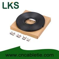 Buy cheap LKS-CB Series PVC Coated Stainless Strapping Band with Screw Buckle and Banding tools product