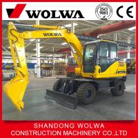 China  mini wheel excavator DLA865-9A with resonable price and high quality  for sale