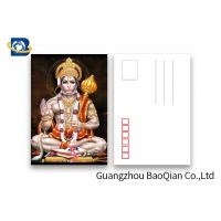 Buy cheap 5D Effect Indian God 3D Lenticular Postcards For Souvenirs/ Promotional Gift product