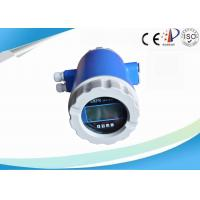 Full Bore Electromagnetic Flow Meter , Intelligent Wastewater Flow Meter
