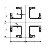 Buy cheap Flanged Cross Ductile Iron Pipe Flanged Fittings DN80 - DN600mm EN545 Standard product