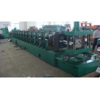 Buy cheap Galvanized Steel Sheet 2 Wave Highway Guardrail Forming Machine / Curving Machine product