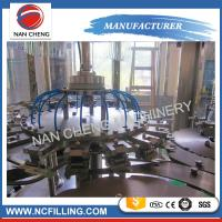 Buy cheap Flowing Liquid Auto Water Filling Machine 3 In 1 0% - 0.1% Filling Precision product