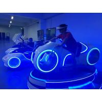Buy cheap Blue / White 9D Virtual Reality Simulator Theme Park Virtual Reality Motion Simulator product