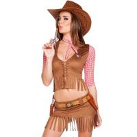 Buy cheap Plus Size Sexy Cowgirl Party Adult Costumes , Halloween Costumes For Girls product