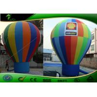 Buy cheap Custom multicoloured Commercial Inflatable Advertising Balloons , Air Balloon For Advertising product