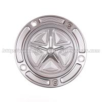China Custom Motorcycle Gas Cap CNC Machined With Aircraft Grade 6061-T6 Solid Aluminum on sale