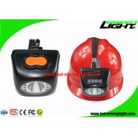 Buy cheap Black Color Cordless Mining Lights , Miners Cap Lamp With High Beam LCD Screen from wholesalers