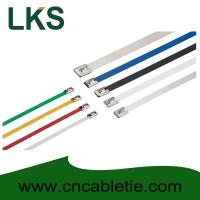 Buy cheap 4.6*650mm 316/304/201 grade Ball-lock stainless steel cable ties product