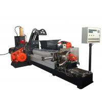 Buy cheap 180KW Masterbatch Single Screw Extruder Kneader Hot Cutting Pelleting System product