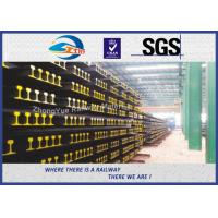 Buy cheap BS11:1985 British Standard Railway Steel Crane Rail For Guide Train Wheels Position from wholesalers