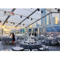 Buy cheap Waterproof Outdoor Event Tents Large Capacity 300 Guest Transparent product