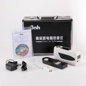 Buy cheap 4mm 8mm Precision Portable Colorimeter Color Reader NH310 For PET Plastic product