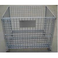 Buy cheap Storage Cage,Wire Mesh Container,Supermarket Mesh Container,Mesh Basket,50x50mm,50x100mm opening product