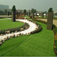 Buy cheap Fire Resistant Artificial Grass Back Garden CE Standard Easy Installation product