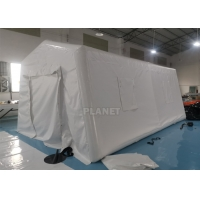 Buy cheap 6m Portable Red Cross Inflatable Medical Emergency Tent For Outdoor product