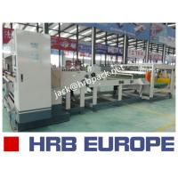 Buy cheap HRB-1600MM 2 Ply Single Facer Corrugated Paperboard Production Line / Carton Box Packaging Machine product