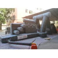 Buy cheap Giant Inflatable Obstacle Course 0.55 Mm PVC Tarpaulin For Entertainment product